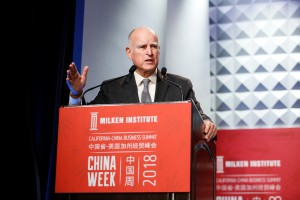 China Week 2018 and the Milken Institute present The California-China Business Summit on May 3, 2018 in Beverly Hills, California. (Photo by Ryan Miller/Capture Imaging)